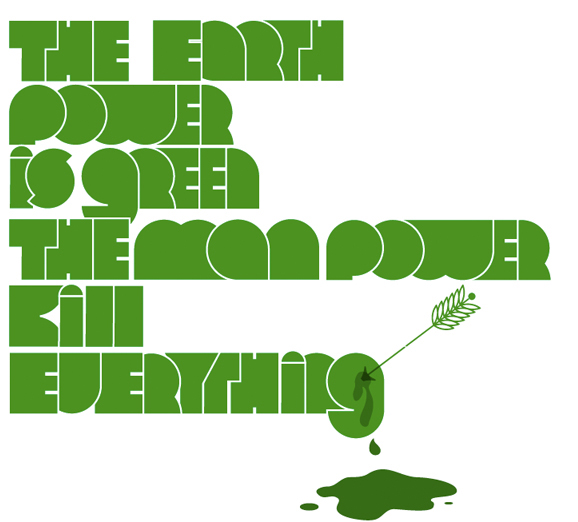 Earth Power Is Green BABY